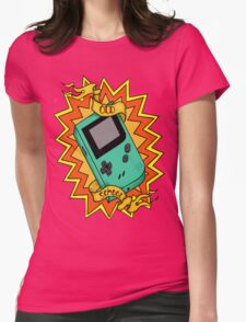 Game Boy Old School Womens Fitted T-Shirt
