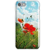 Norfolk Poppies .. iPhone Case/Skin