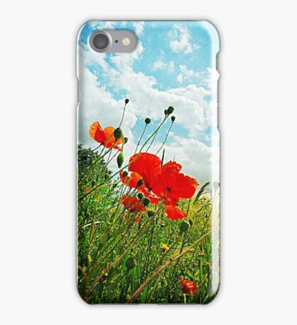 Norfolk Poppies .. iPhone Case/Skin