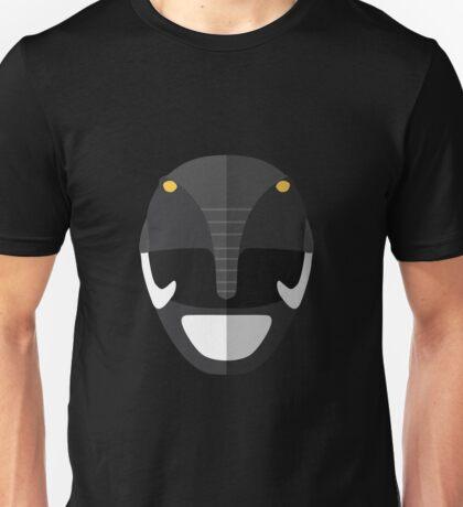 Mighty Morphin Power Rangers - Black Ranger Unisex T-Shirt