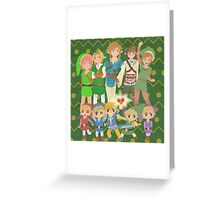 Too Many Links (Print Version) Greeting Card
