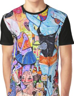 Asunder  Graphic T-Shirt