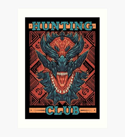 Hunting Club: Glavenus Art Print