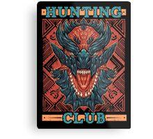 Hunting Club: Glavenus Metal Print