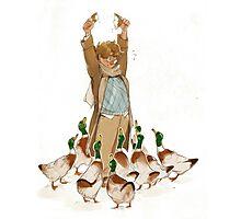 Good Omens - Ahh Ducks! Photographic Print