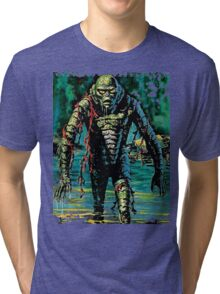 Swamp Creature Tri-blend T-Shirt