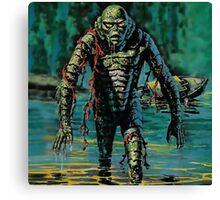 Swamp Creature Canvas Print