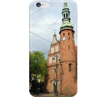 Church of the Poor ClareS in Bydgoszcz, Poland iPhone Case/Skin