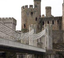 Conwy castle. Sticker