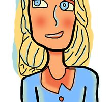 Clip art lady by Laurynsworld