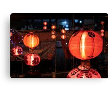 Chinatown: Red Everywhere Canvas Print
