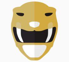 Mighty Morphin Power Rangers - Yellow Ranger Kids Tee