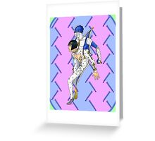JoJo's Bizarre Adventure - Buccellati & Sticky Fingers Greeting Card