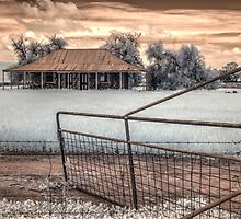 Old farm house in IR by BigAndRed