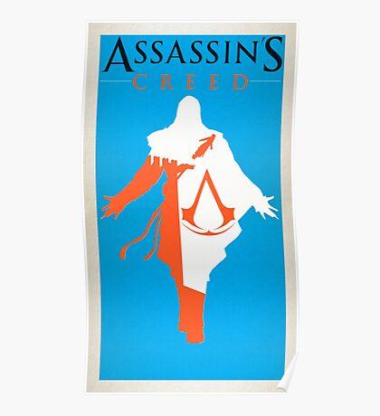Assassin's Creed Ezio Minimalist Poster