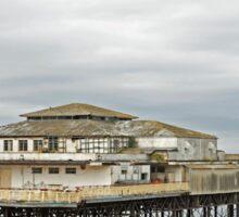 Colwyn Bay pier.  Sticker