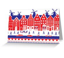 Amsterdam, Netherlands Greeting Card