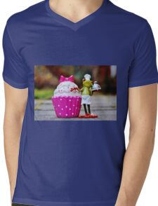 Frog the Chef and cook Mens V-Neck T-Shirt