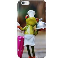 Frog the Chef and cook iPhone Case/Skin