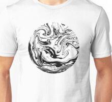 Black & White. Circle #1 Unisex T-Shirt
