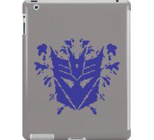 Decetiblot (blue) iPad Case/Skin