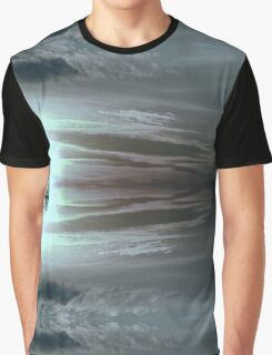 SILVER SUNSET Graphic T-Shirt