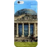 Berlin Parliament Reichstag building  iPhone Case/Skin