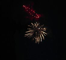Ring of Redness and a Burst of Stereotypical Firework by kendrabrecka