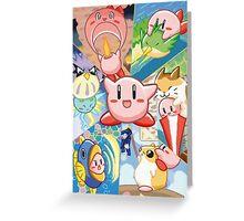 Kirby's Dream Land 3 - Companion Abilities Greeting Card