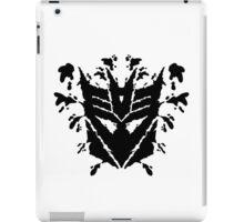 Deceptiblot (black) iPad Case/Skin