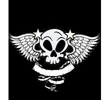 Winged Skull Photographic Print