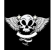Winged Skull Photographic Print