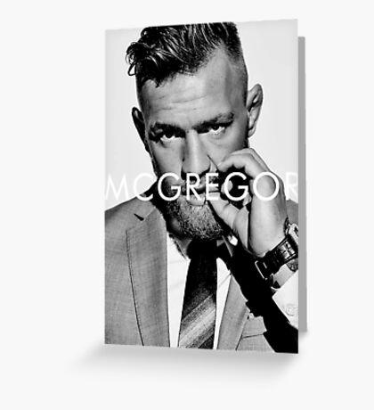 Connor Mc Gregor Greeting Card