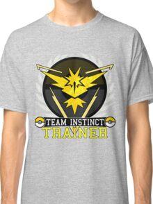 Team Instinct - Pokemon Go Classic T-Shirt