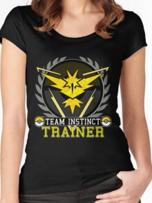 Team Instinct - Pokemon Go Women's Fitted Scoop T-Shirt