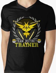 Team Instinct - Pokemon Go Mens V-Neck T-Shirt