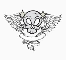 Winged Skull Kids Clothes