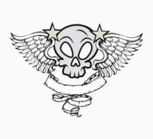 Winged Skull Baby Tee