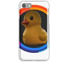 Polygon art : Duck Quack Quack iPhone Case/Skin