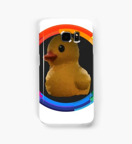 Polygon art : Duck Quack Quack Samsung Galaxy Case/Skin