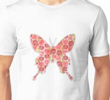 Flower filled in Butterfly Unisex T-Shirt