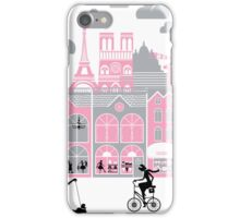 A view of Paris, France iPhone Case/Skin