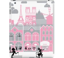 A view of Paris, France iPad Case/Skin