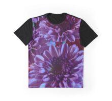 Purple Mums Graphic T-Shirt