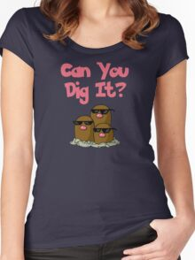 Can You Dig It? Women's Fitted Scoop T-Shirt