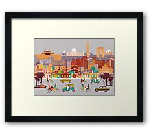 New Delhi, India Framed Print