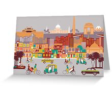 New Delhi, India Greeting Card