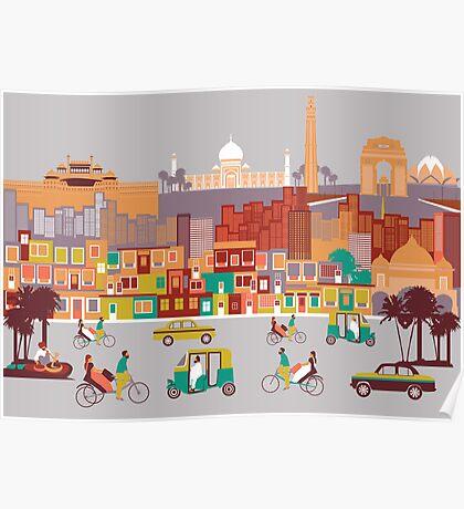 New Delhi, India Poster
