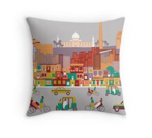 New Delhi, India Throw Pillow