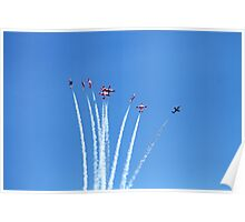 Canadian Forces Snowbirds Poster